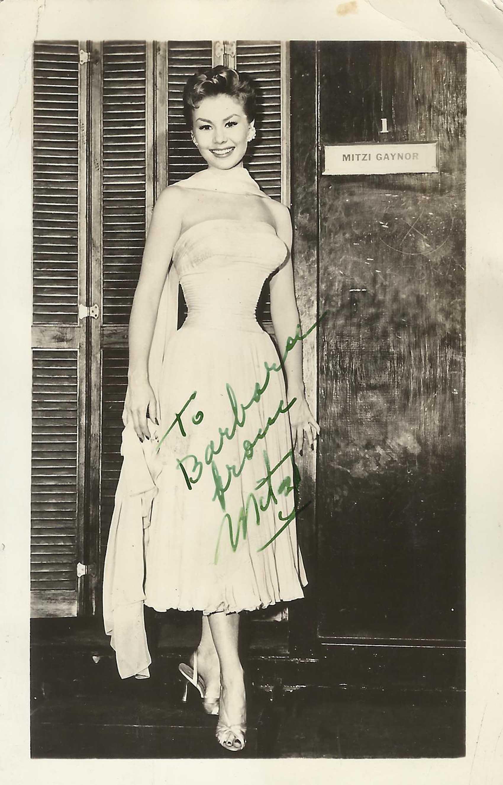 Mitzi Gaynor imagenes Biografia fotos desnuda pics